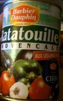 Ratatouille Provençale aux légumes frais - Product