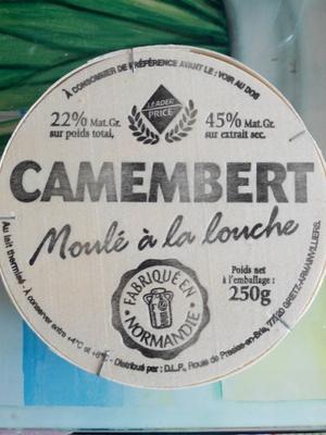 Camembert, Moulé à la louche (22 % MG) - Produit - fr
