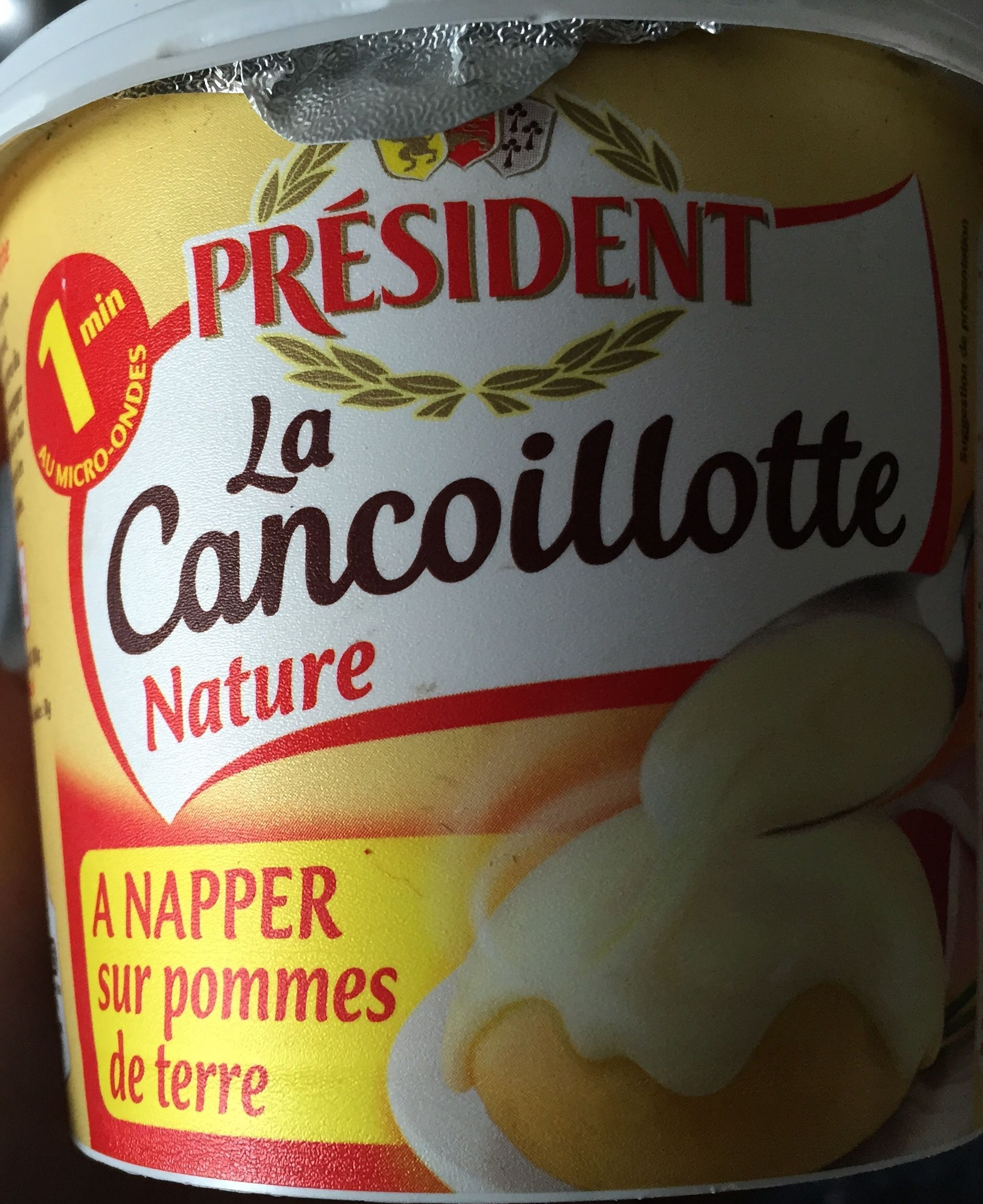 Cancoillotte Nature - Product