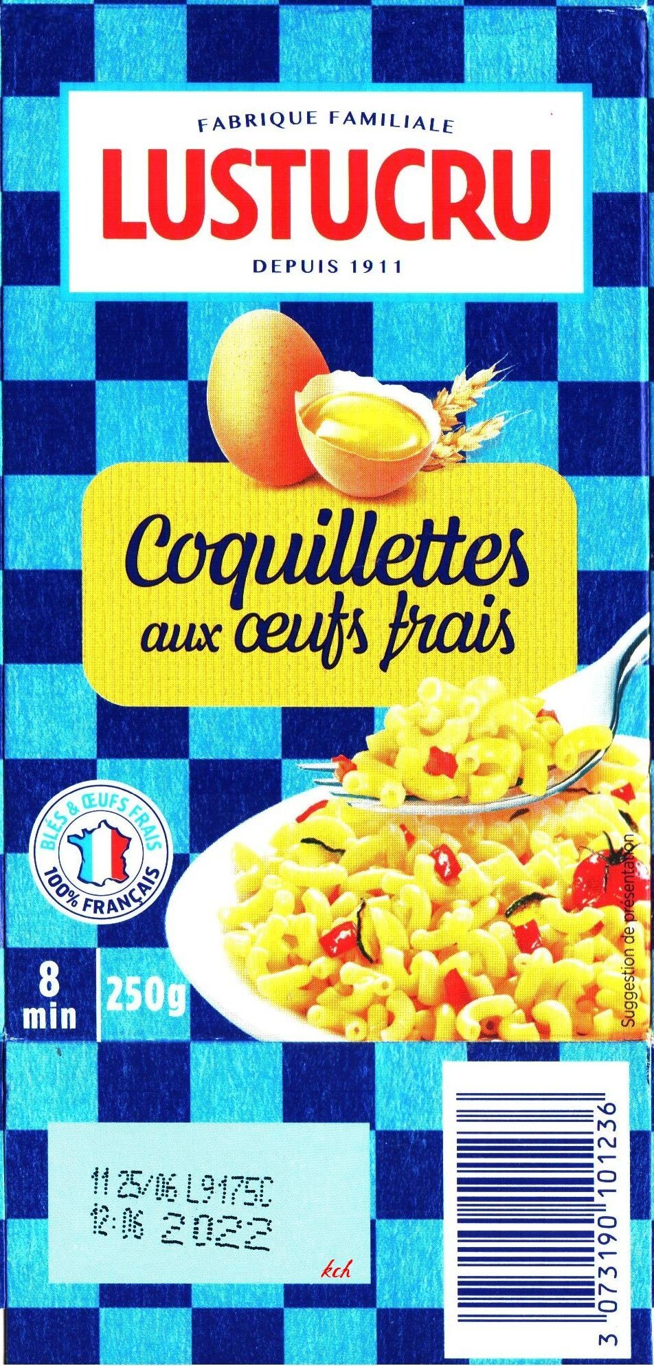 Coquillettes aux œufs frais - Product
