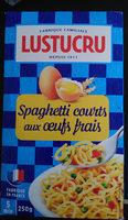 Spaghetti courts aux œufs frais - Ingredients