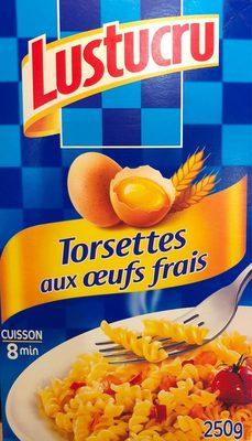 Torsettes aux œufs frais - Produit - fr