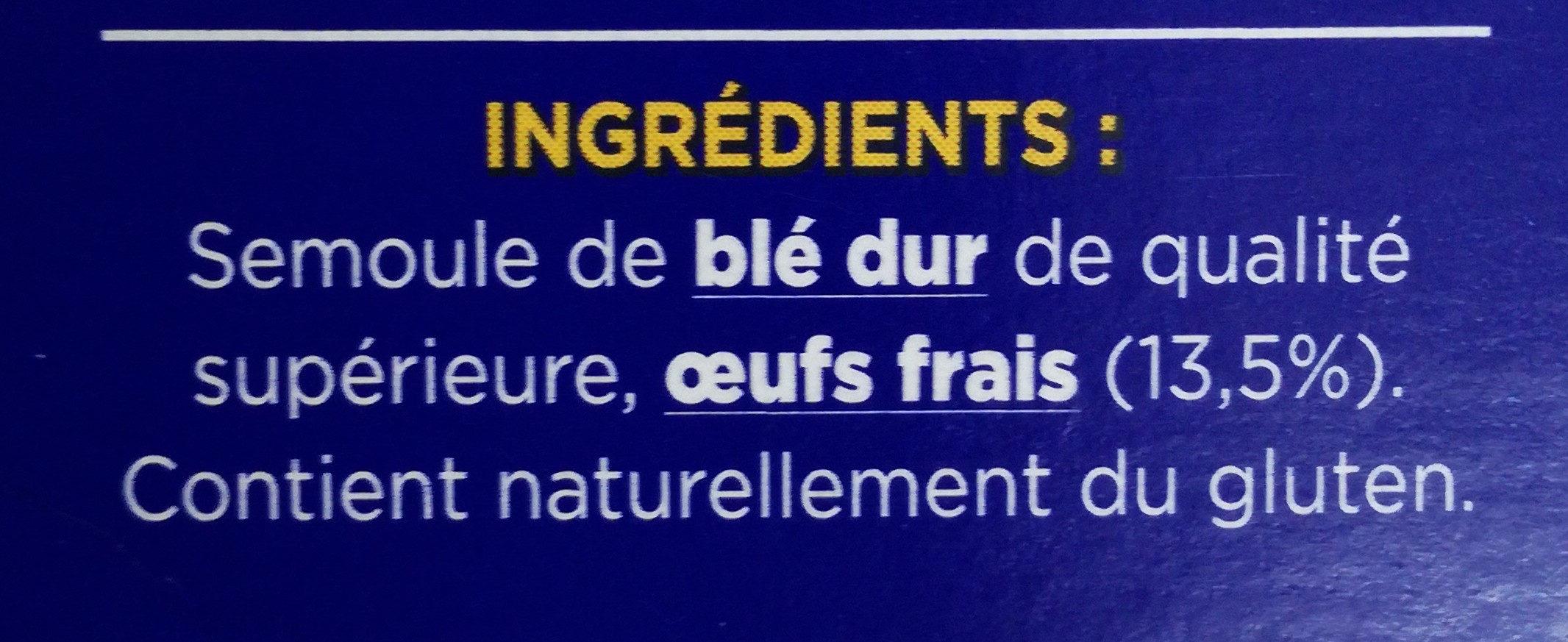Torsettes aux œufs frais - Ingrédients - fr