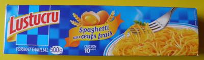 Spaghetti aux œufs frais (Format Familial) - Produit - fr