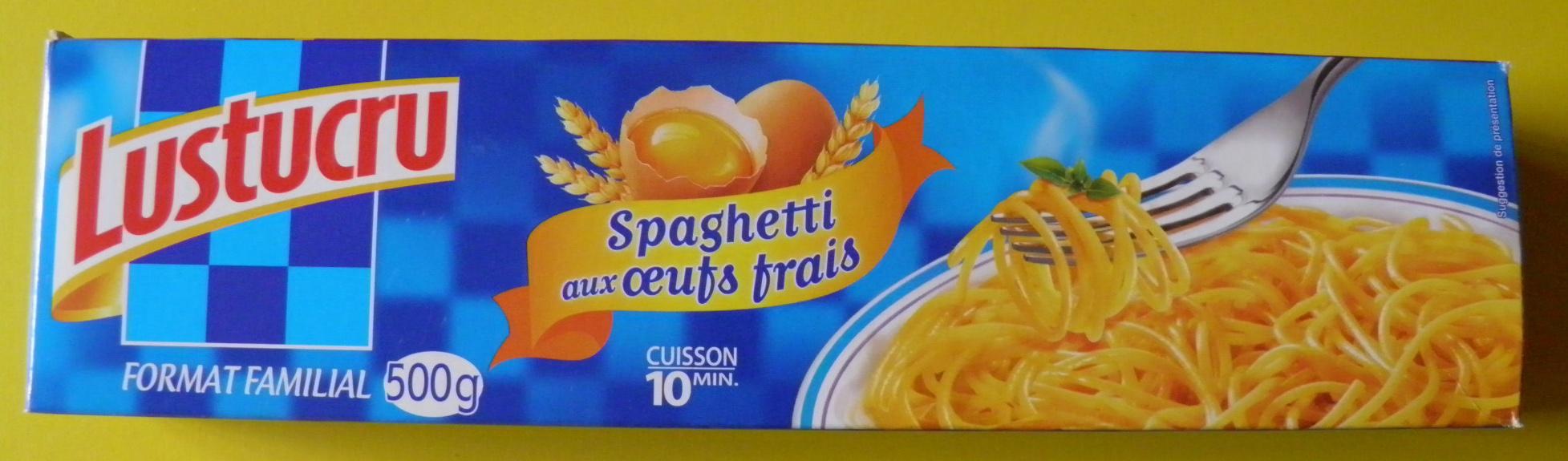 Spaghetti aux œufs frais (Format Familial) - Produit