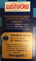 Gnocchi aux oeufs frais - Ingrédients