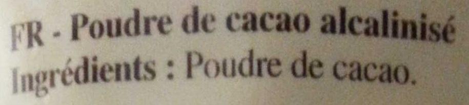 Plein Arôme - Ingrédients - fr