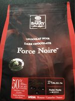 Force noire 50 % chocolat noir - Product