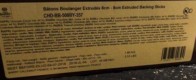 Batons Chocolat 500 - Produit - fr