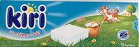 Kiri à la crème de lait (12 Portions) - Produit