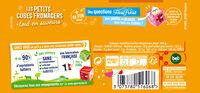 Apéricube Recettes Provençales 24C - Informations nutritionnelles - fr