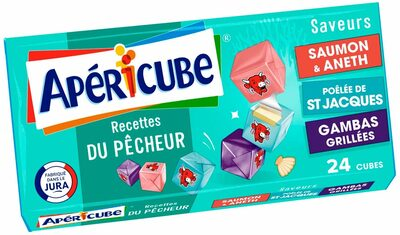 Apéricube Recettes du Pêcheur - Product - fr