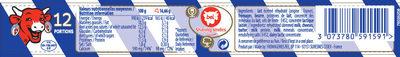 La Vache qui rit® 12 Portions - Informations nutritionnelles