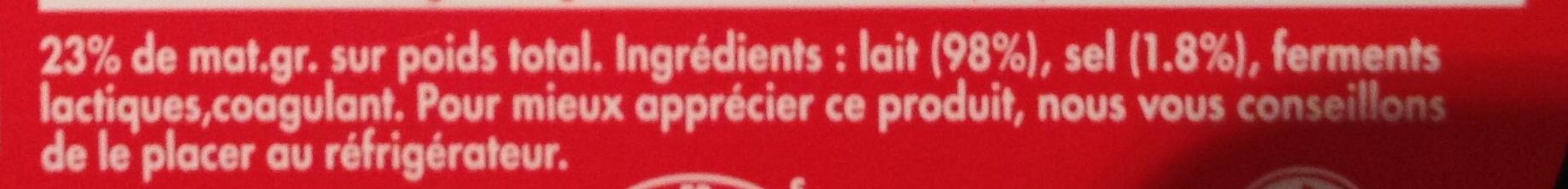 Mini Babybel (23 % MG) - Ingredienti - fr