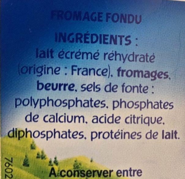 Ma petite Vache qui rit 8 portions - Ingrédients - fr