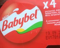 Mini Babybel Rouge X 4 23,5 % - Produit - fr