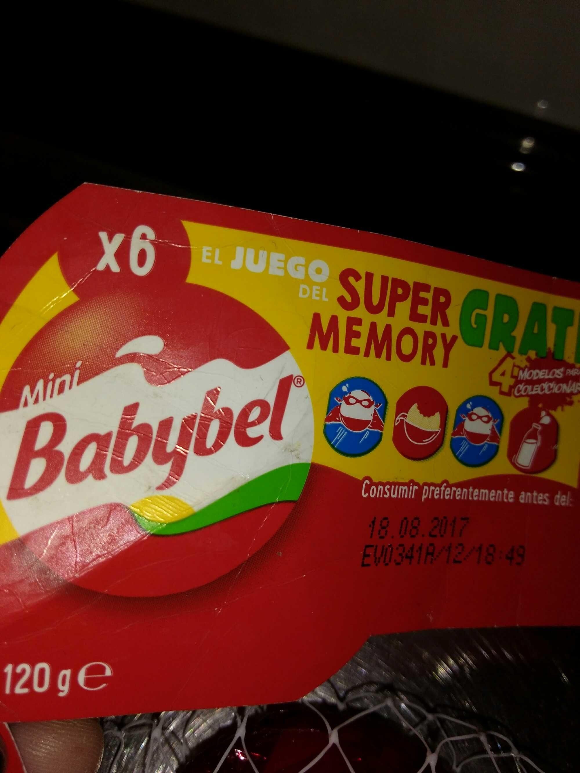 Mini Babybel - Producto - es