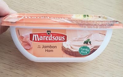 Fromage à tartiner au jambon - Product