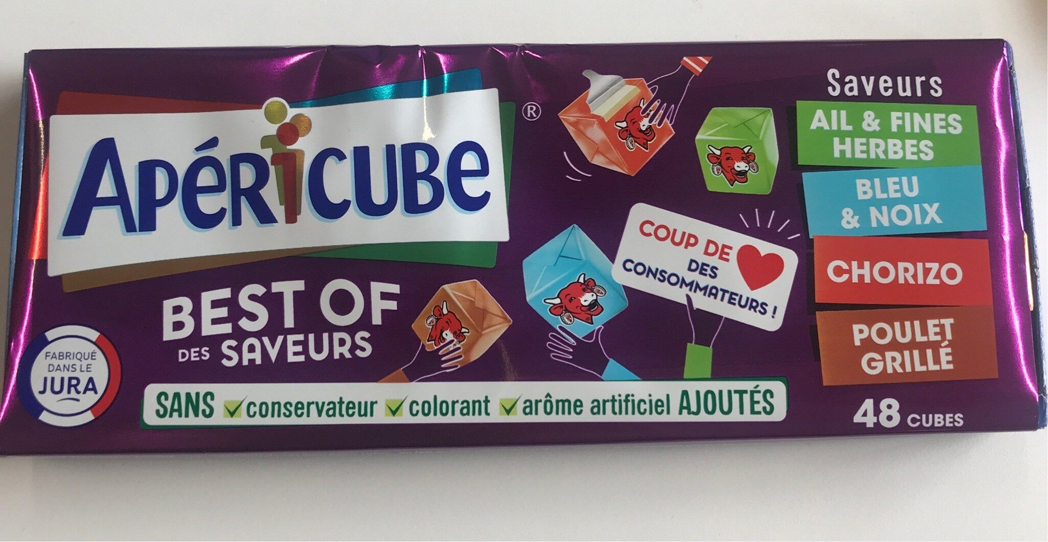 Apéricube Best of des Saveurs - Product - fr
