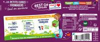 Apéricube Best of des Saveurs - Informations nutritionnelles - fr