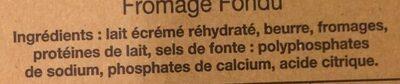 Vache Picon 19,50 % - Ingrédients