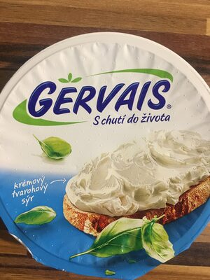 Gervais original - Recycling instructions and/or packaging information - cs