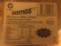 Samos 29,5% 150 MG De Calcium - Produit - fr