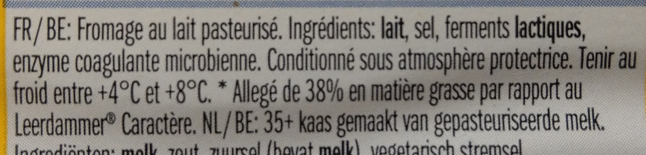 Lightlife caractère - Ingrediënten - fr