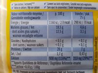 Lightlife caractère - Nutrition facts