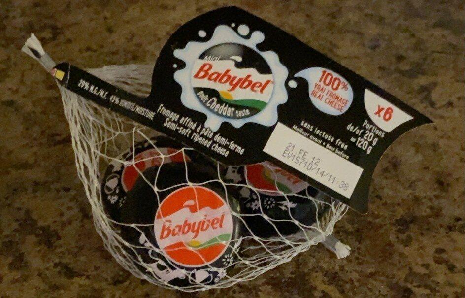 Babybel Cheddar Cheese - Product - fr