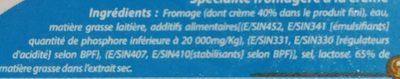 Délice - Ingredients - fr