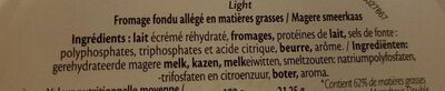 Fromage Fondu Triangles Light 7% MG - Ingrediënten
