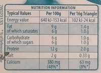 Light with Blue Cheese - Informations nutritionnelles - fr