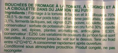 Roulés de Jambon Fumé - Ingrédients - fr