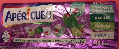 Apéricube Nature et Saveurs Fraîcheur 48C - Produit - fr