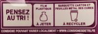 Apéricube Nature et Saveurs Fraîcheur 48C - Instruction de recyclage et/ou informations d'emballage - fr