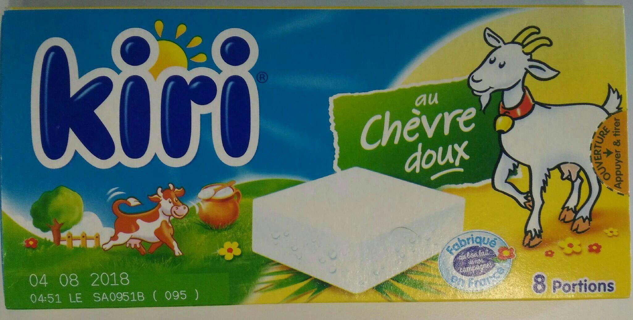 Kiri au chèvre 8 portions - Produit - fr