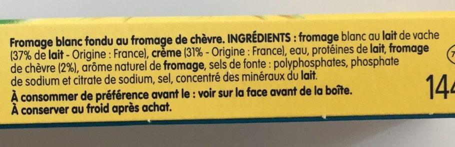 Kiri au chèvre 8 portions - Ingredients