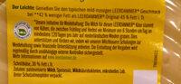Leerdammer Léger - Ingrédients - fr