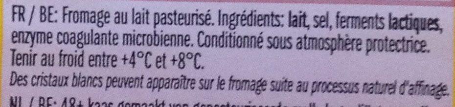 Leerdammer Caractère - Ingrédients - fr