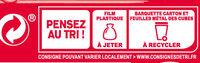 Apéricube Viva Espana 48C - Instruction de recyclage et/ou informations d'emballage - fr
