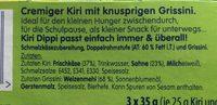 Kiri Dippi - Ingredients - fr
