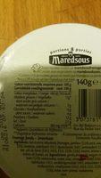 Maredsous light au jambon - Produit