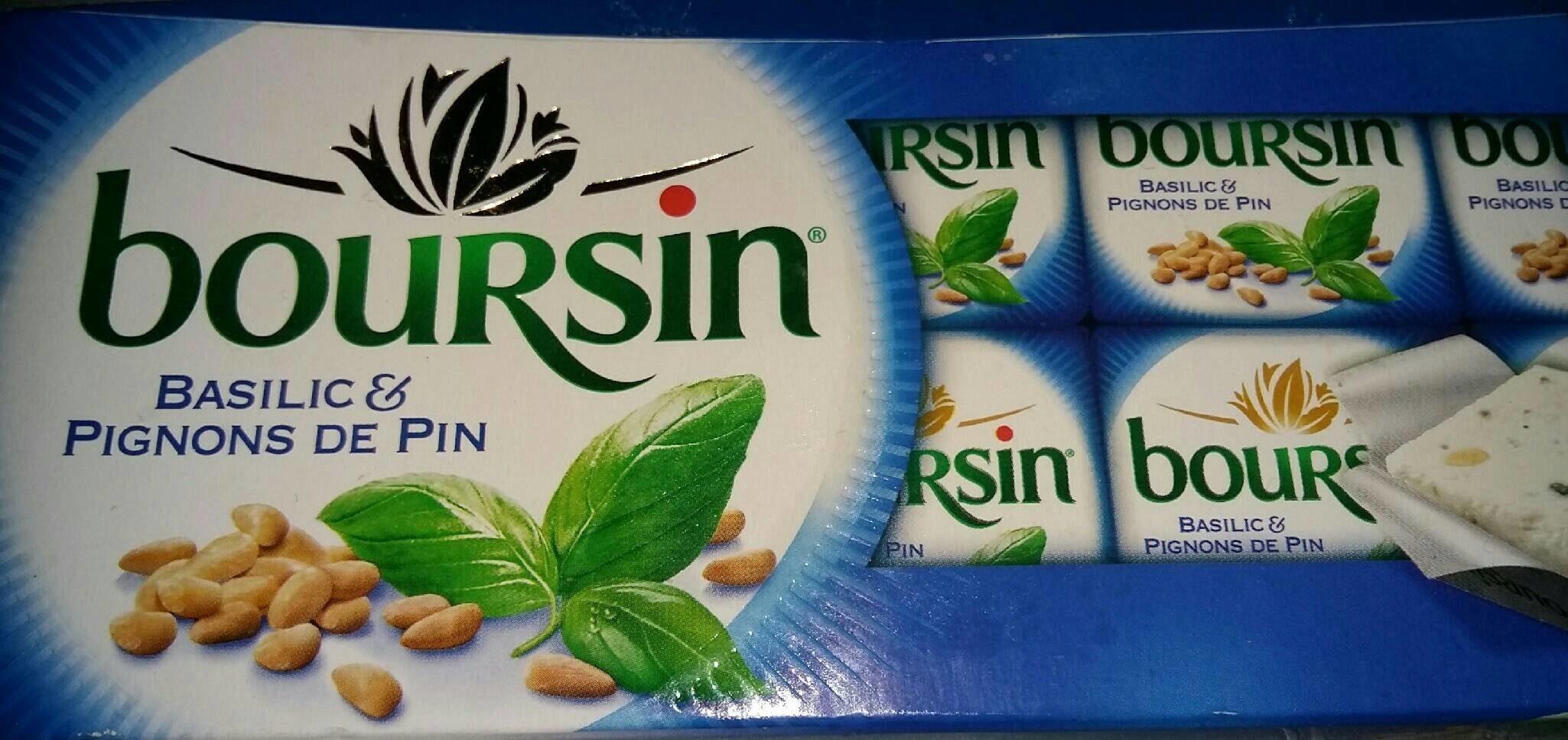 Fromage basilic & pignons de pin 10 x 16 g - Produit - fr
