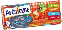 Apéricube Les saveurs Charcut' Fromages - Produit