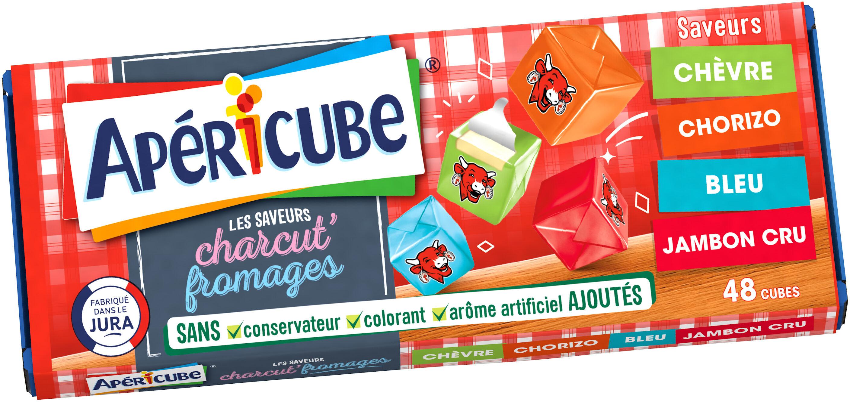 Apéricube Charcut' Fromages 48C - Produit - fr