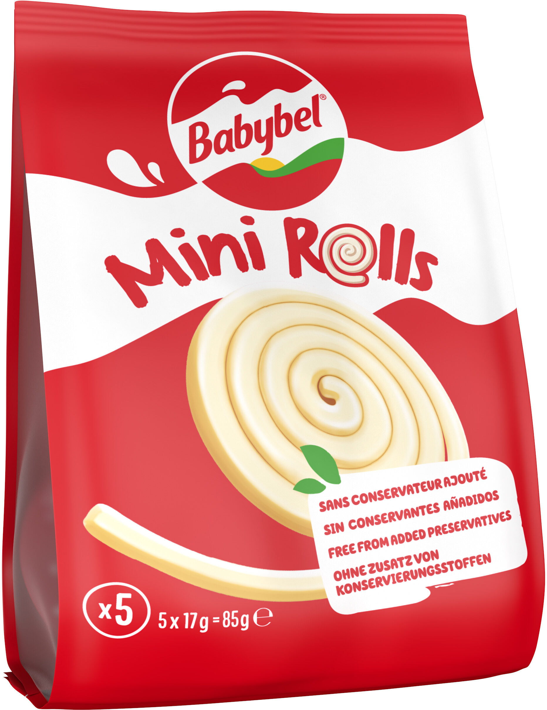 Mini-Babybel Mini-Rolls x5 - Produit - fr