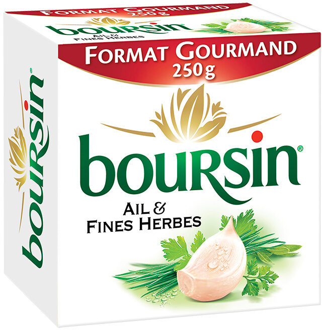 Boursin Ail & Fines Herbes - Prodotto - fr