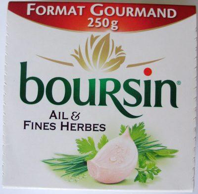 Boursin Ail et fines herbes - Product - nl