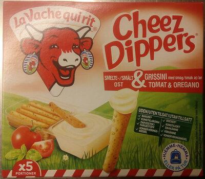 Cheez Dippers Smältost & grissini med smak av tomat & oregano - Produit